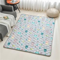 全棉防滑爬爬垫 宝宝爬行垫 加厚地垫客厅地毯可机洗 布洛尼