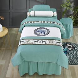 (总)骏兴 2021新款雪夫尼美容床罩