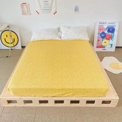 (总)四方米 2021新款40支13372全棉单品床笠