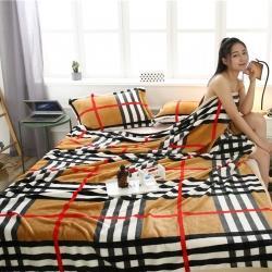 (总)爱她美家纺 250g云貂绒毛毯