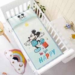 允泰乳胶 新款迪士尼婴儿凉席宝宝透气冰丝童席 happy米奇