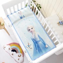 允泰乳胶 2021新款迪士尼婴儿凉席宝宝透气冰丝童席爱莎公主