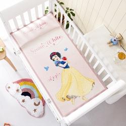 允泰乳胶 2021新款迪士尼婴儿凉席宝宝透气冰丝童席白雪公主