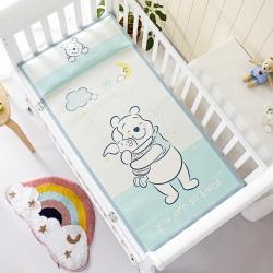 允泰乳胶 2021新款迪士尼婴儿凉席宝宝透气冰丝童席维尼伙伴