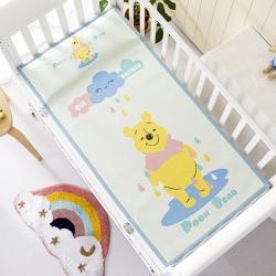 允泰乳胶 2021新款迪士尼婴儿凉席宝宝透气冰丝童席雨天维尼
