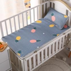 富馨莱 2021新款儿童乳胶凉席 多彩菠萝