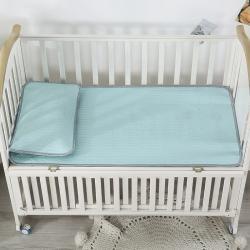 富馨莱 2021新款儿童乳胶凉席 天蓝色