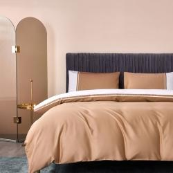 (总)蘭菲家纺 2021新款60支贡缎长绒棉酒店风高端四件套