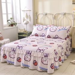 (总)名优 2021新款13070全棉印花床裙