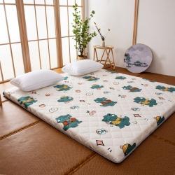 (总)防水防潮榻榻米床垫软垫折叠地铺睡垫懒人床地垫家用垫子