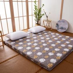 防水防潮榻榻米床垫软垫折叠地铺睡垫懒人床地垫家用垫子可爱大象