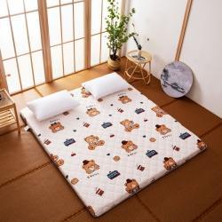 防水防潮榻榻米床垫软垫折叠地铺睡垫懒人床地垫家用垫子可爱小熊