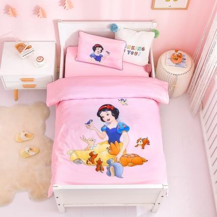 (总)童爱(迪士尼家居馆) 新款全棉儿童三件套-迪士尼