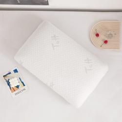 (总)铂曼2021直播爆款太极石白面包枕乳胶枕枕芯