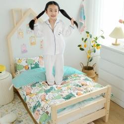 (总)十九色 新款正宗13372全棉全工艺印花幼儿园三件套