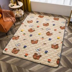 (总)花韵莱新款牛奶绒保暖地垫宝宝爬爬垫防滑地垫支持定制尺寸