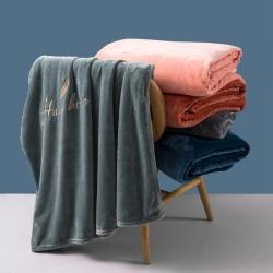 (总) 2021 七月生活A类德绒毛毯珊瑚绒毯