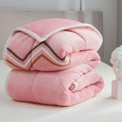 沐锦家纺 2021三层加厚法兰绒毯 毛毯珊瑚绒毯盖毯