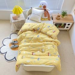 (总)A类针织棉幼儿园冬被仿鹅绒儿童春秋被宝宝午睡保暖被芯