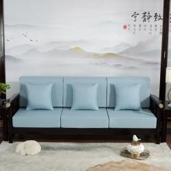 (总)正帆凉席 2021 新款亚麻布沙发垫