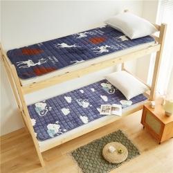 (总)2021法兰绒床垫子单人宿舍大学生床垫床褥子床护垫保暖