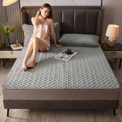 (总)苏拉家居 2021新款牛奶绒夹棉床垫
