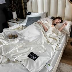 (总)罗琳丝床垫 2021新款天丝夏被夏被三件套夏被四件套