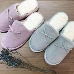 (总)安睡宝 2021新款优雅茸茸暖冬拖鞋