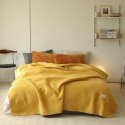 (总)法芙娜家纺 2021新款超声波牛奶绒毛毯 星星毯