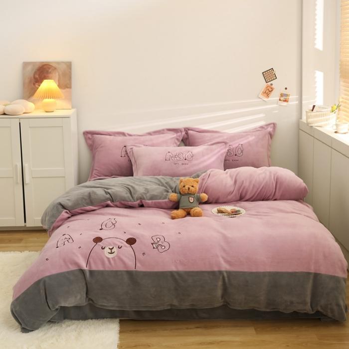 字母熊-香芋紫