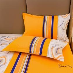 (总)梦之宝 2021新款大版印花生态磨毛枕套对装