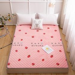 (总)正邦法莱绒床护垫可水洗床垫保暖薄床褥学生榻榻米垫子床垫