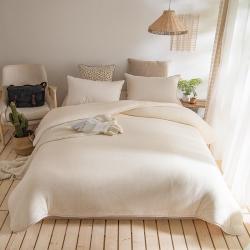 (总)嘉豪 2021新款新疆棉花被棉絮棉花被全棉被芯鱼鳞网纱棉胎