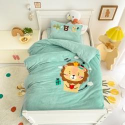 (总)A类宝宝绒毛巾绣幼儿园套件婴幼儿被子儿童三件套/六件套