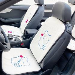 (总)麦柚家纺 2021新款仿兔毛刺绣款汽车坐垫