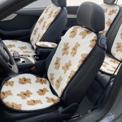 (总)麦柚家纺 2021新款仿兔毛汽车坐垫