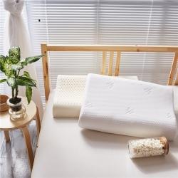 (总)美然家纺 2021新款高低波浪乳胶枕