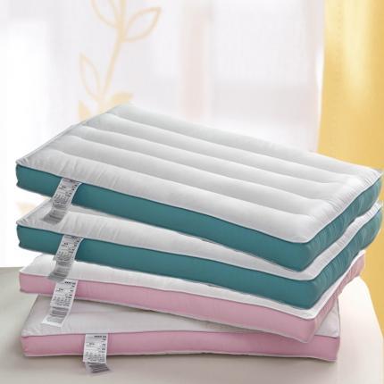 艾丽丝枕芯A类全棉纤软低枕 立体低软枕 成人学生低软枕头枕芯