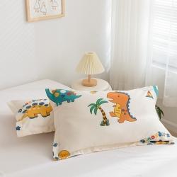 (总)芈月 2021新款全棉儿童卡通信封枕套/枕芯+枕套系列