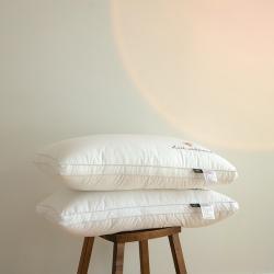 爆!全棉小蜜蜂刺绣枕芯 轻法式全棉刺绣枕芯枕头  简欧蜜意枕