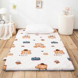 防水防潮榻榻米床垫软垫折叠地铺睡垫懒人床地垫家用垫子饼干熊