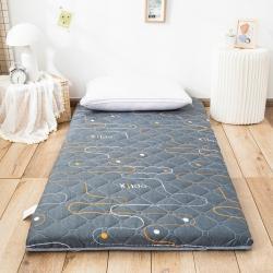 防水防潮榻榻米床垫软垫折叠地铺睡垫懒人床地垫家用垫子多元几何