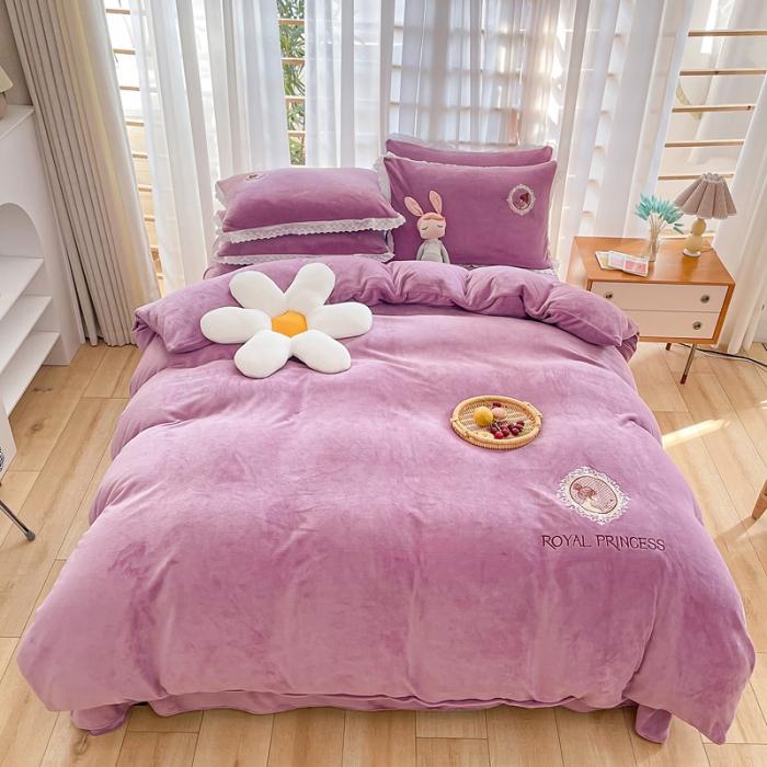 居里女孩-香芋紫