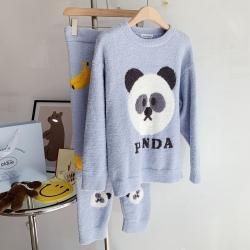 (总)纽约生活  2021新款蜜桃兔蓝熊猫睡衣
