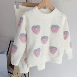 (总)纽约生活  2021新款儿童小草莓睡衣
