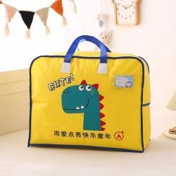 梵赫 2021新款卡通手提袋 恐龙黄