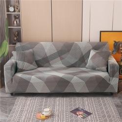 (总)雅竹家纺 2021新款牛奶丝全包沙发床套