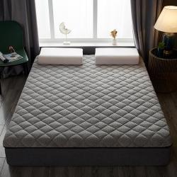 鑫博莱床垫 2021新款羊羔绒保暖床垫 灰色