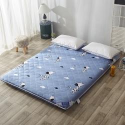 米帛床垫双面绗绣全棉加厚床垫时尚大咖