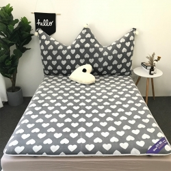 米帛床垫 2018新款韩式兔兔绒加厚床垫(靠垫有售)